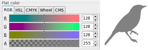 Gravures sur raster moyen dans Inkscape