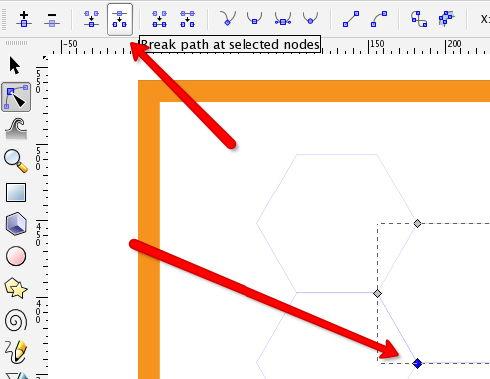 Supprimer les lignes doubles des fichiers de découpe laser dans Inkscape