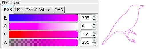 Gravures au laser lumière vectorielle dans Inkscape