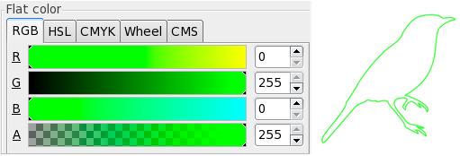 Gravures laser à vecteur moyen dans Inkscape