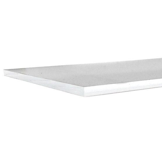 Bordi tagliati - Plexiglass specchio argento per il taglio laser
