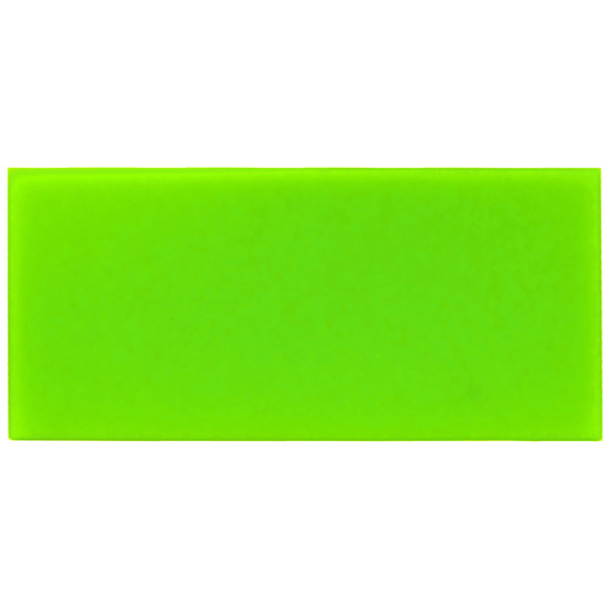 Sample - light green plexiglass for laser cutting