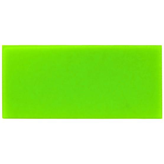 Échantillon - plexiglas vert clair pour la découpe au laser