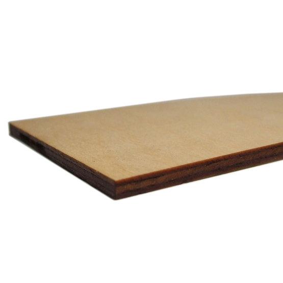 Cut edges - birch plywood for laser cutting