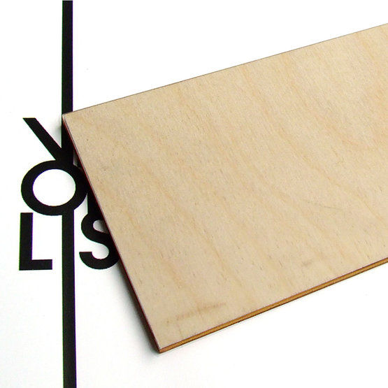 Surface - birch plywood for laser cutting