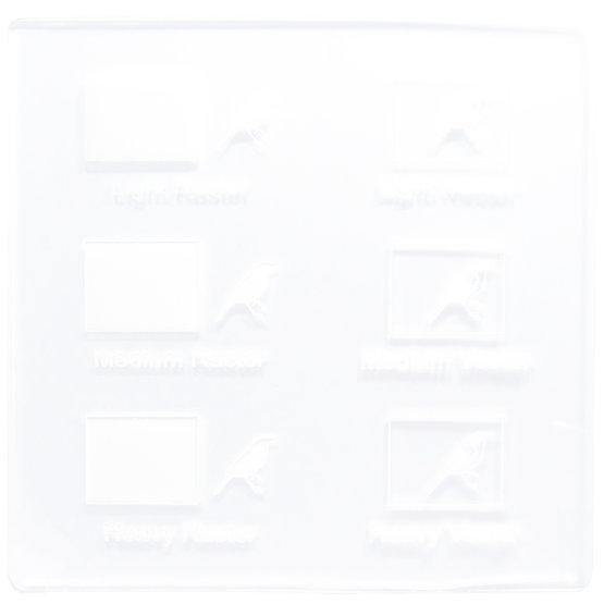 Esempio incisione - Plexiglass trasparente incolore per il taglio laser