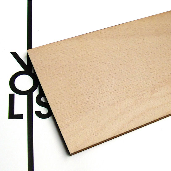 Surface - beech plywood for laser cutting