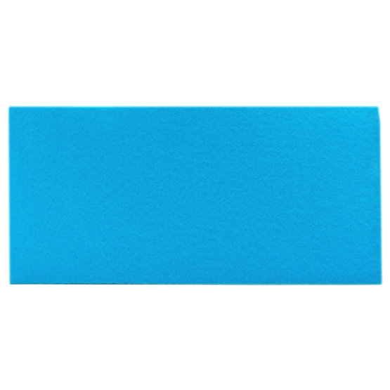 Sample - light blue felt for laser cutting