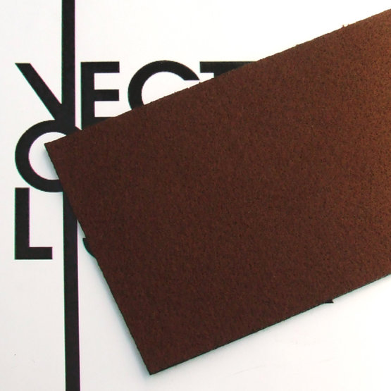 Surface - brown felt for laser cutting