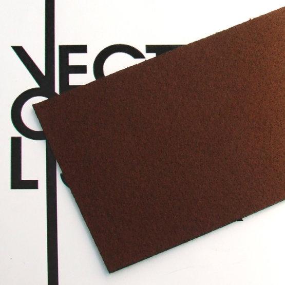 Superficie - feltro marrone per il taglio laser