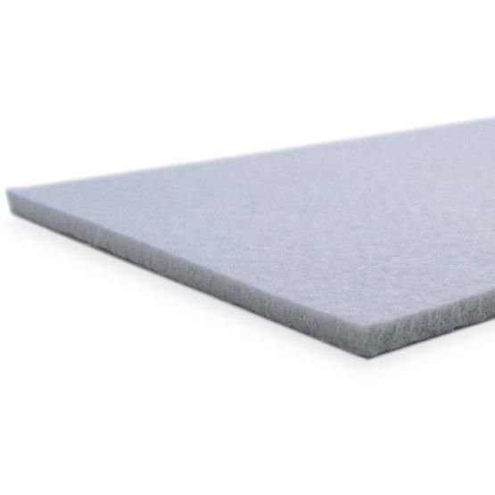 Bordi tagliati - feltro grigio chiaro per il taglio laser