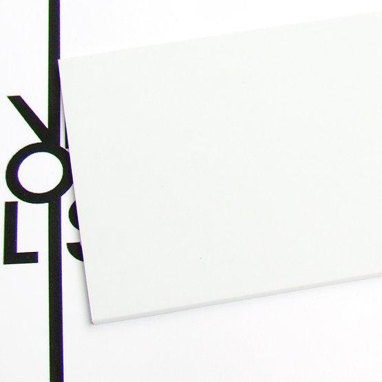Surface - plexiglas blanc pour découpe au laser
