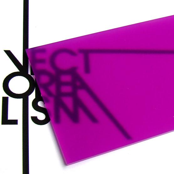 Surface - diffuseur cycliste en plexiglas pour découpe laser