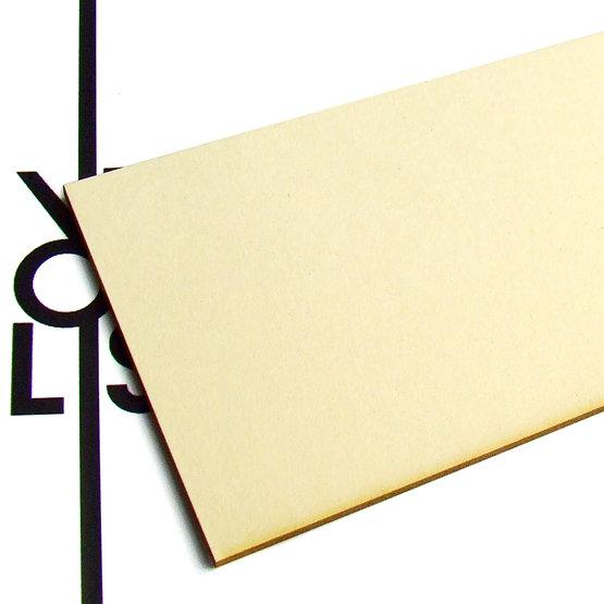 Surface - carton végétal pour découpe laser
