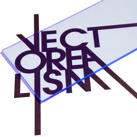 Surface - fluorescent blue plexiglass for laser cutting