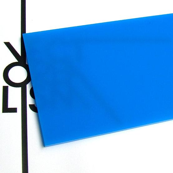 Surface - plexiglas bleu clair pour découpe au laser
