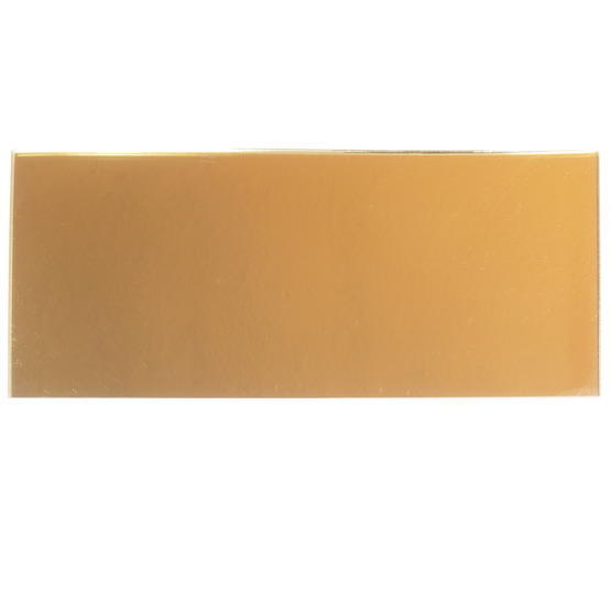 Échantillon - plexiglas miroir doré pour découpe au laser