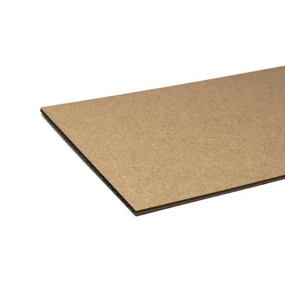 Cut edges - havana microwave cardboard for laser cutting