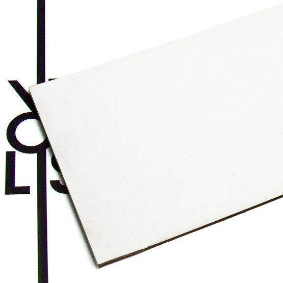 Surface - white microwave cardboard for laser cutting