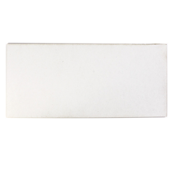 Sample - white microwave cardboard for laser cutting