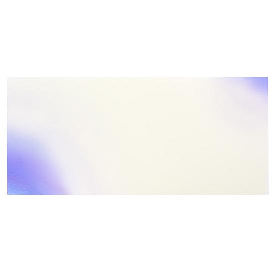 Échantillon - plexiglas bleu nacré pour découpe au laser