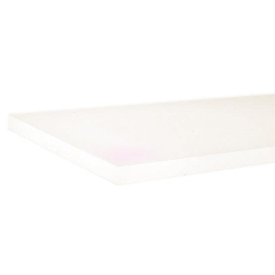 Bords coupés - Plexiglass rose nacré pour la découpe au laser