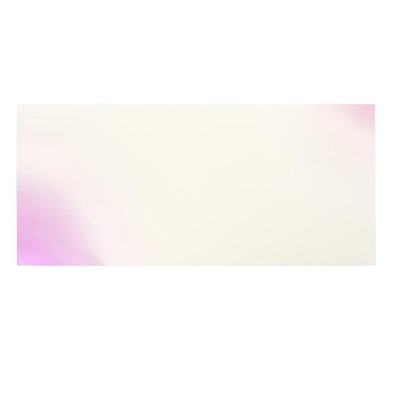 Échantillon - plexiglas nacré rose pour la découpe au laser