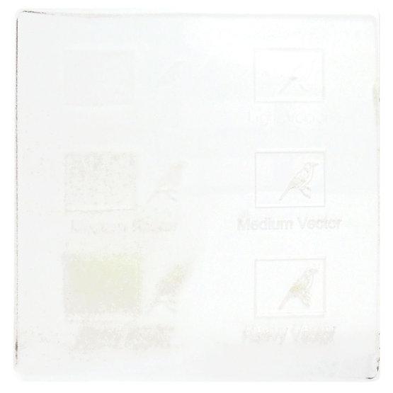 Exemple de gravure - PETG pour la découpe au laser