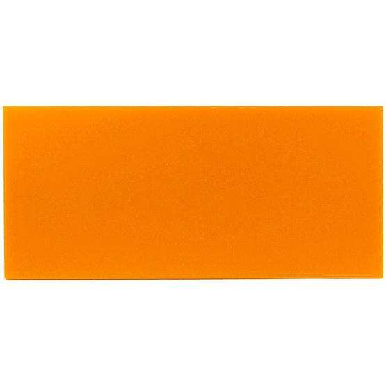 Campione - plexiglass mandarino per il taglio laser