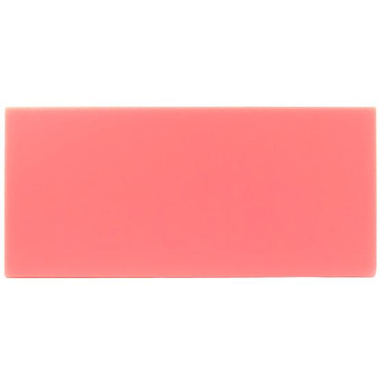 Échantillon - plexiglas rose pour découpe au laser