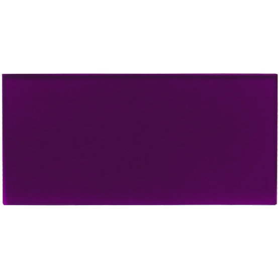 Sample - transparent violet plexiglass for laser cutting