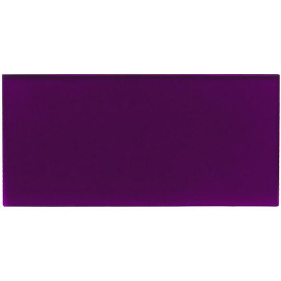 Échantillon - plexiglas violet transparent pour découpe au laser