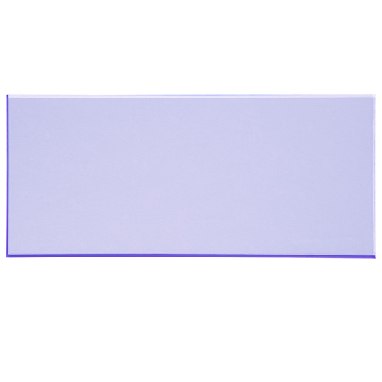 Sample - fluorescent blue plexiglass for laser cutting
