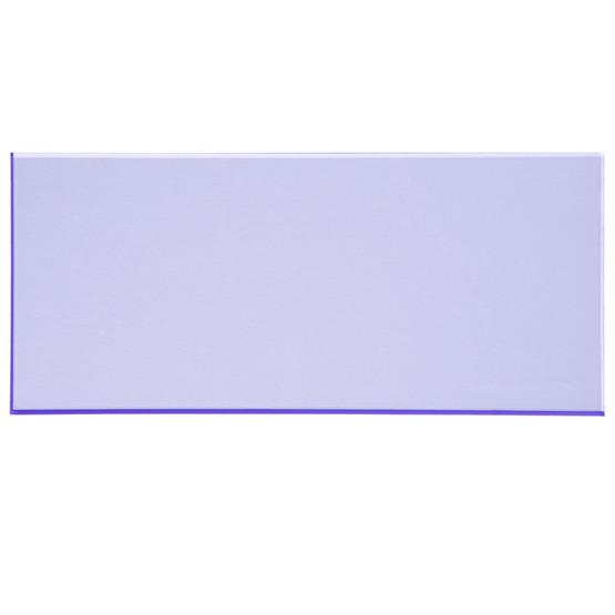 Échantillon - plexiglas bleu fluorescent pour découpe au laser