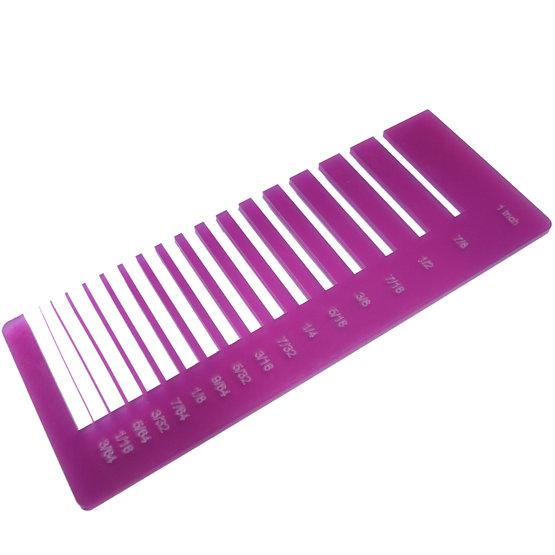 Precision test - plexiglass cyclamen diffuser for laser cutting