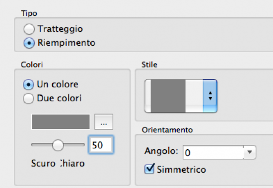 Incisioni laser leggere di riempimenti raster in DraftSight