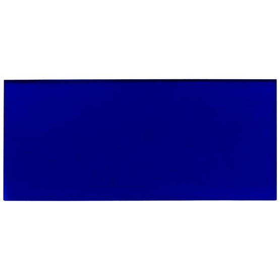 Plexiglass blu trasparente - campione