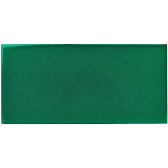 Transparent forest green plexiglass