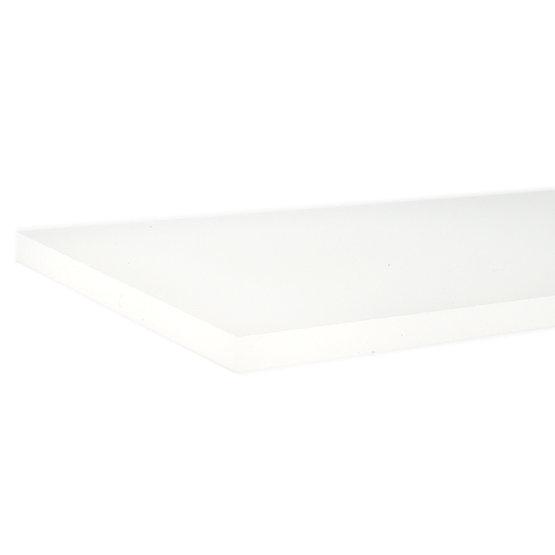 Plexiglas opale - bord coupé au laser