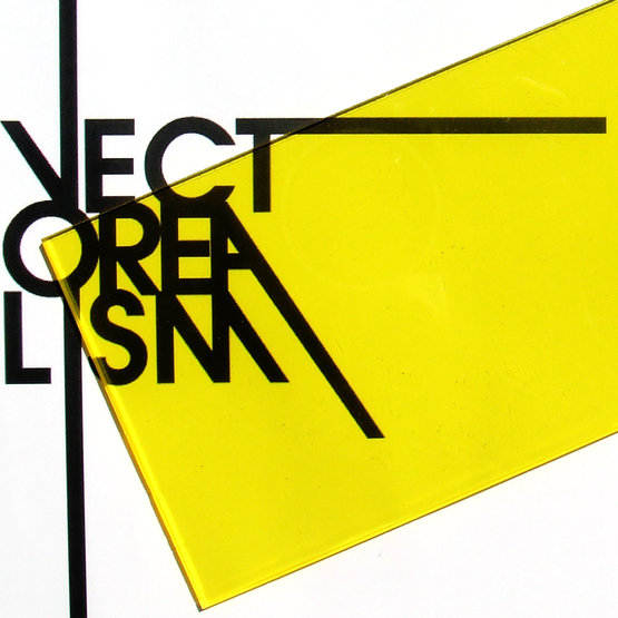 Transparent yellow plexiglass