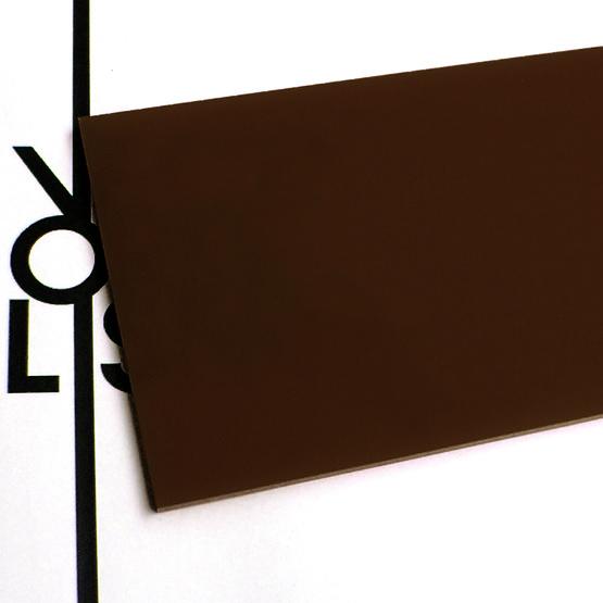 Plexiglas marrone