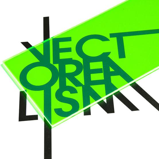 Fluorescent green Plexiglas - transparency test