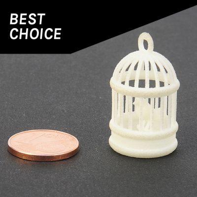 Plastique blanc pour impression 3D - prototypage rapide