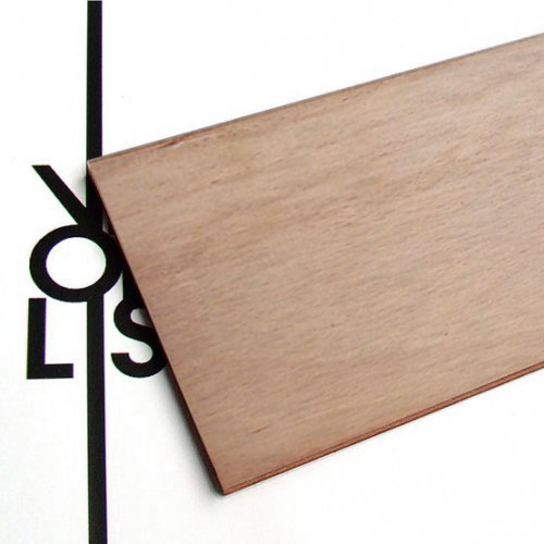 Okoumé plywood for laser cutting - test