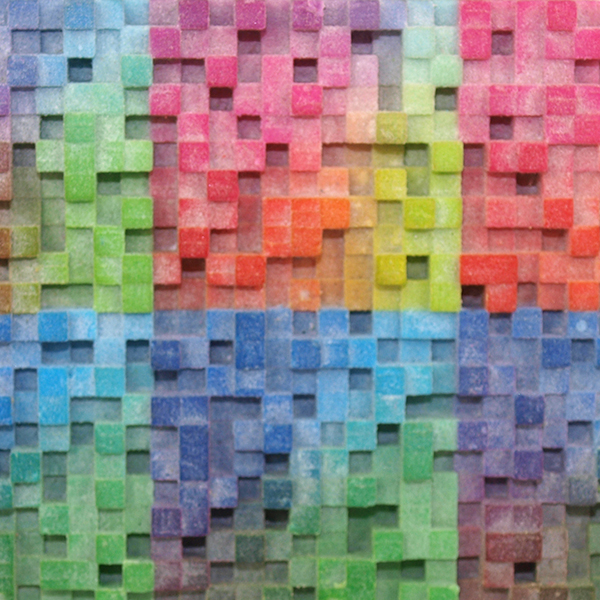 Poudre multicolore pour l'impression 3D