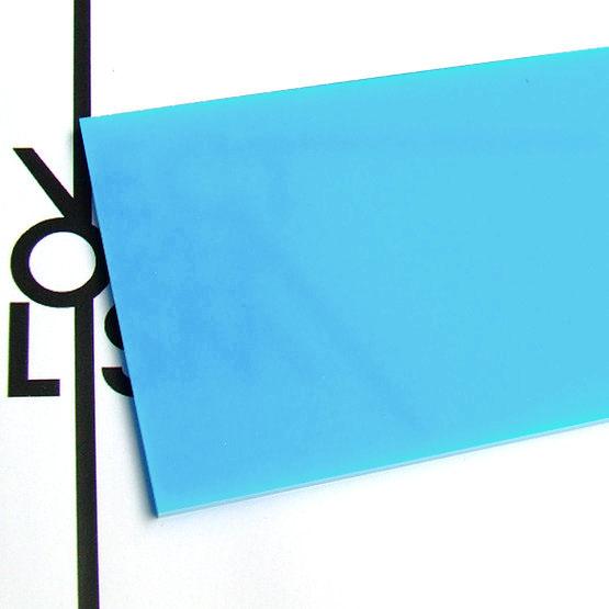 Opale bleu bébé en plexiglas