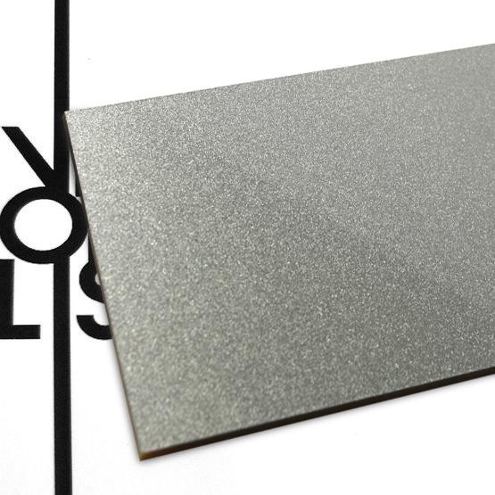 Plexiglass grigio metalizzato - campione