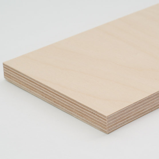 Birch plywood - edges
