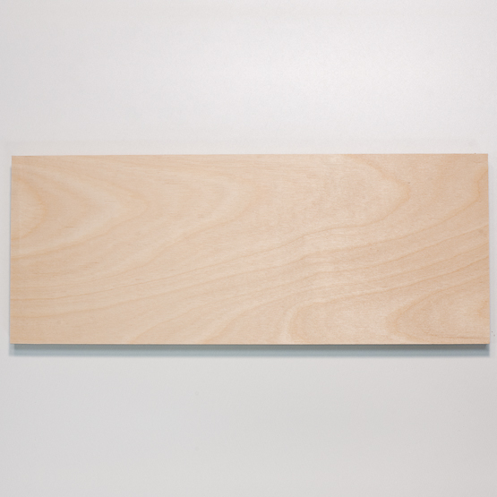 Poplar plywood - surface