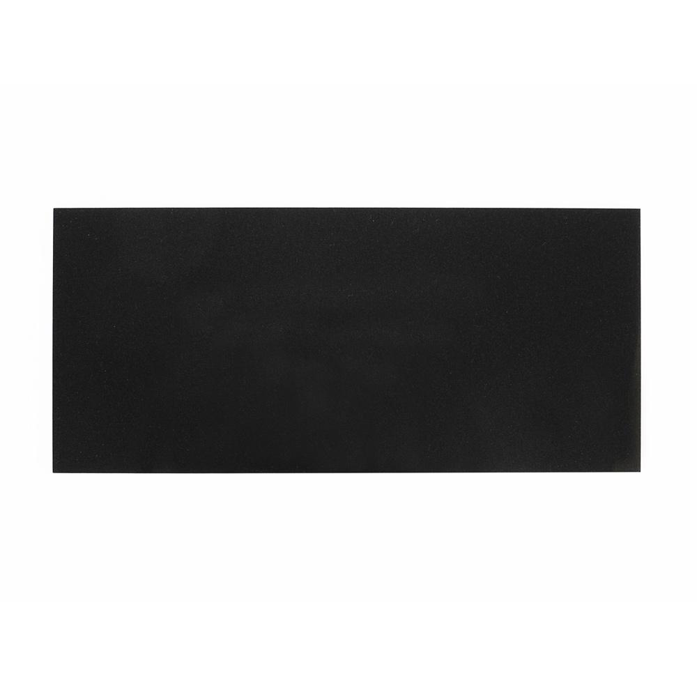 Plexiglass noir métallisé - surface